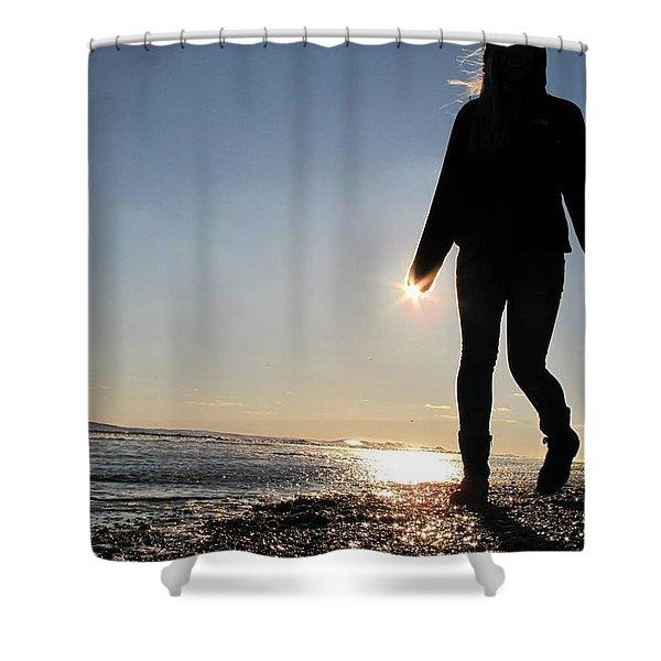 Beah Walk Shower Curtain