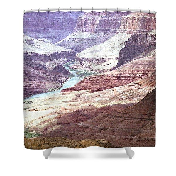Beamer Trail, Grand Canyon Shower Curtain