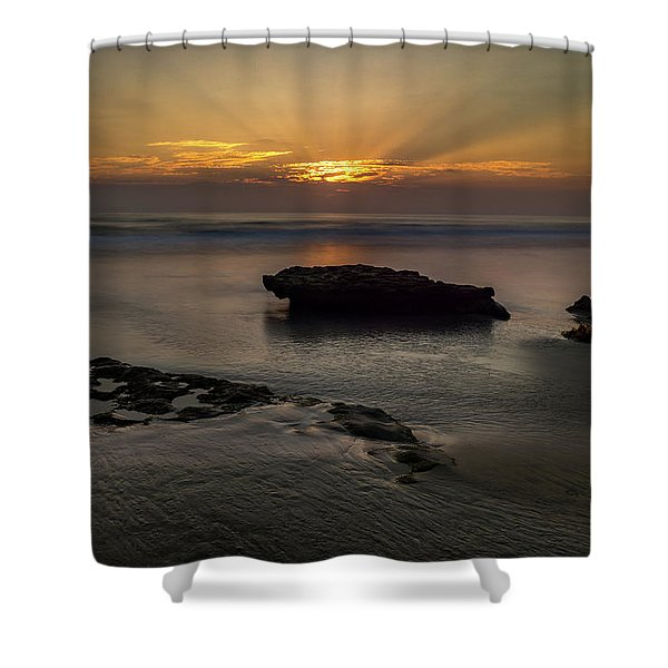 Beamscape Shower Curtain