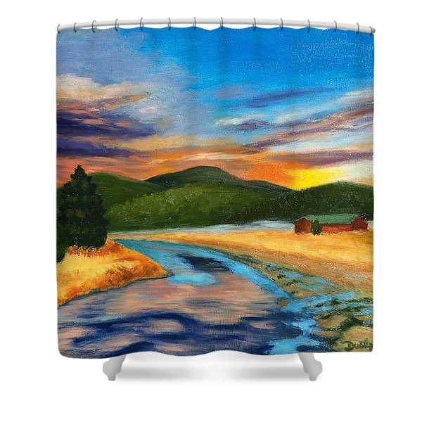 Bear Creek Colorado Shower Curtain
