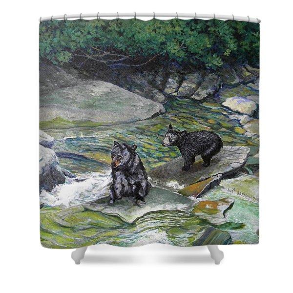 Bear Creek Shower Curtain