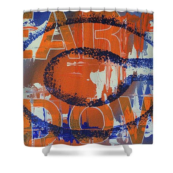 Bear Down Shower Curtain