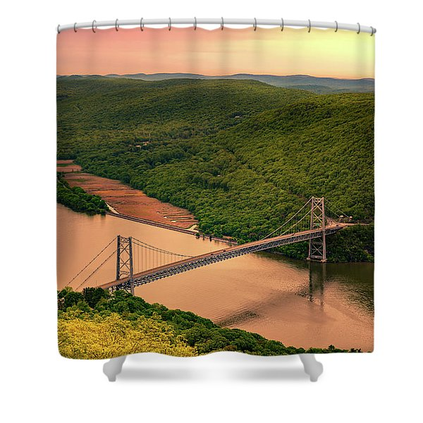 Bear Mountain Bridge Shower Curtain
