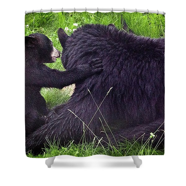 Bearing All Shower Curtain