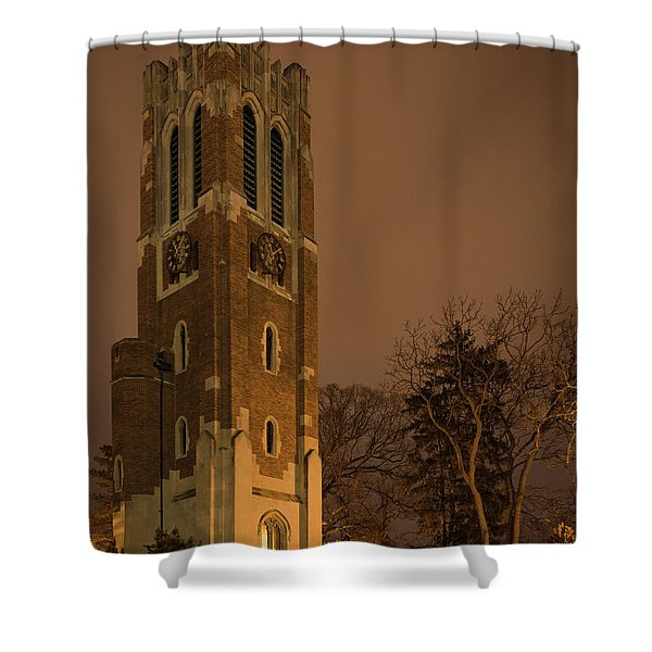 Beaumont Tower Shower Curtain
