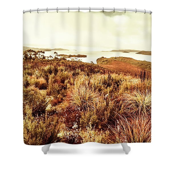 Beautiful Barren Outback Shower Curtain