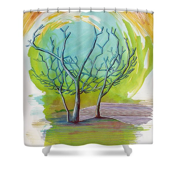 Beautiful By Mistake   Shower Curtain
