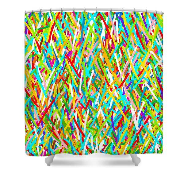 Beautiful Confusion Shower Curtain