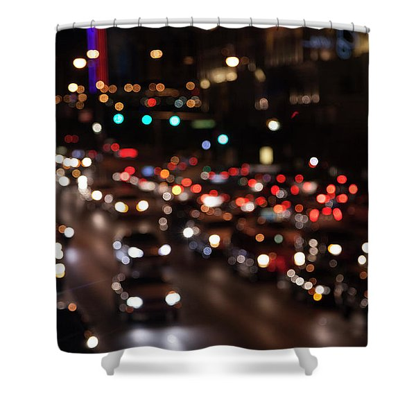 Beautiful Congestion Shower Curtain