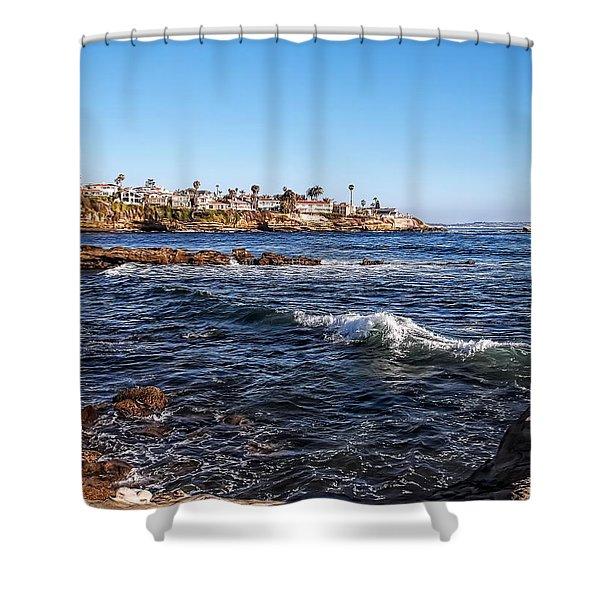 Beautiful Day In La Jolla Shower Curtain