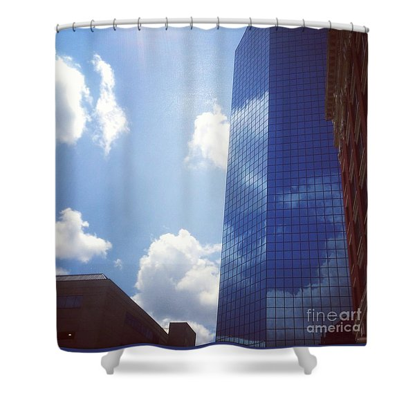 Beautiful Day In Lexington, Ky Shower Curtain