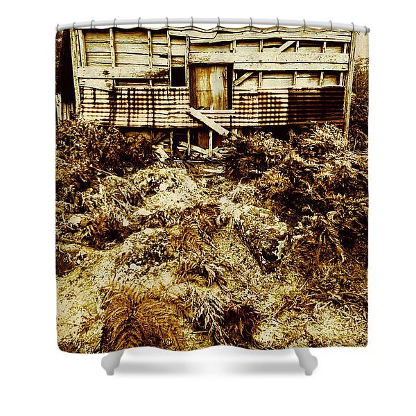 Beautiful Decay Shower Curtain