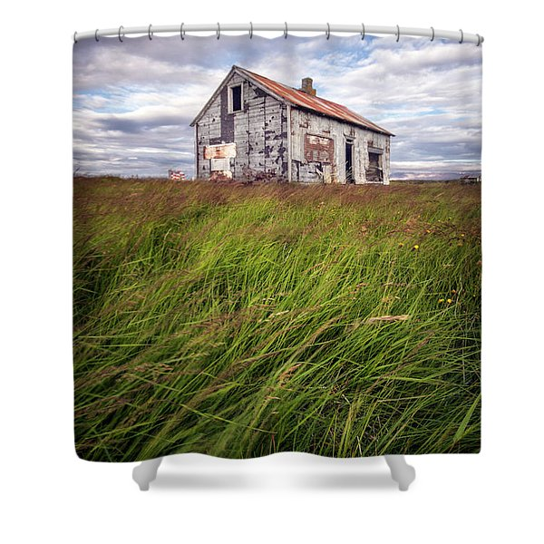 Beautiful Disaster Shower Curtain