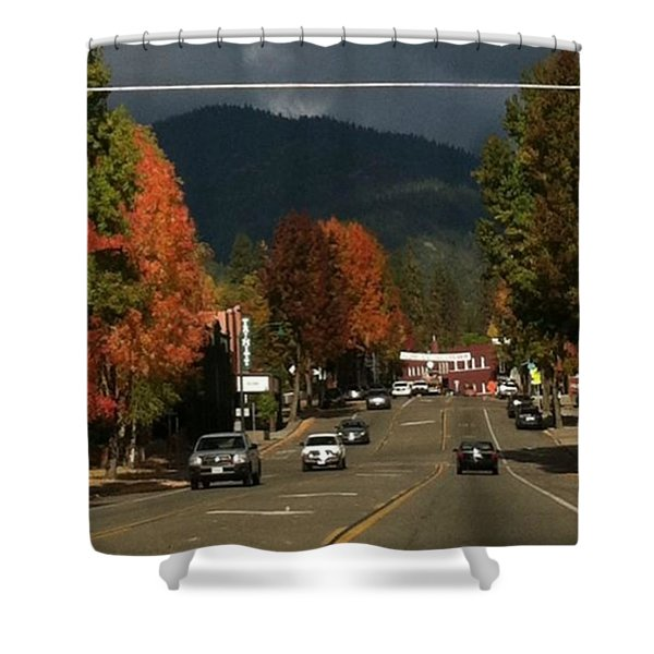 Beautiful Fall Day! Shower Curtain