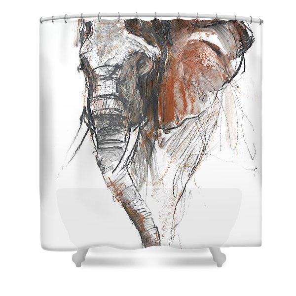 Beautiful Female Loisaba Shower Curtain