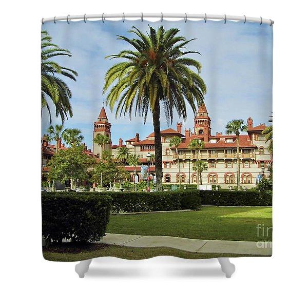 Beautiful Flagler College Shower Curtain