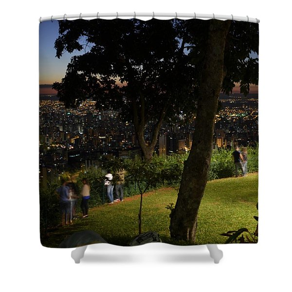 Beautiful Location In Bh #vistapoint Shower Curtain