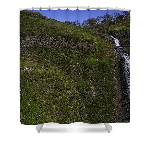 Beautiful Spring Falls Shower Curtain