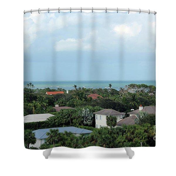 Beautiful Vero Beach Florida Shower Curtain