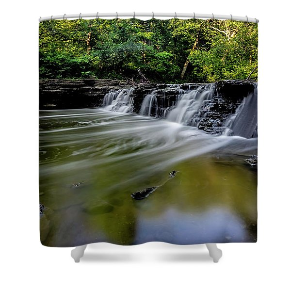 Beautiful Waterfall Shower Curtain