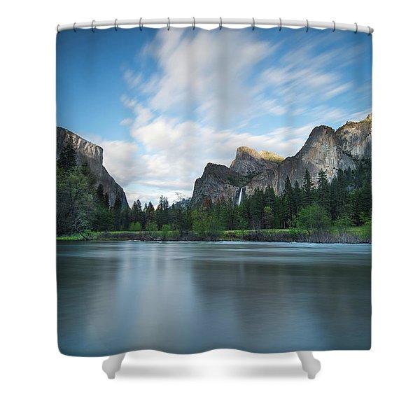 Beautiful Yosemite Shower Curtain