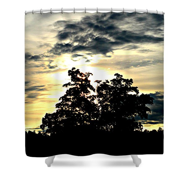 Beautifully Wasting Time Shower Curtain