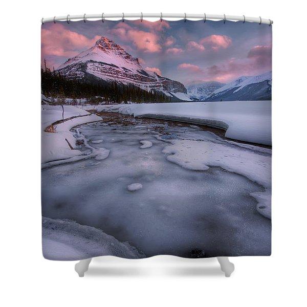 Beauty Creek, Jasper National Park Shower Curtain