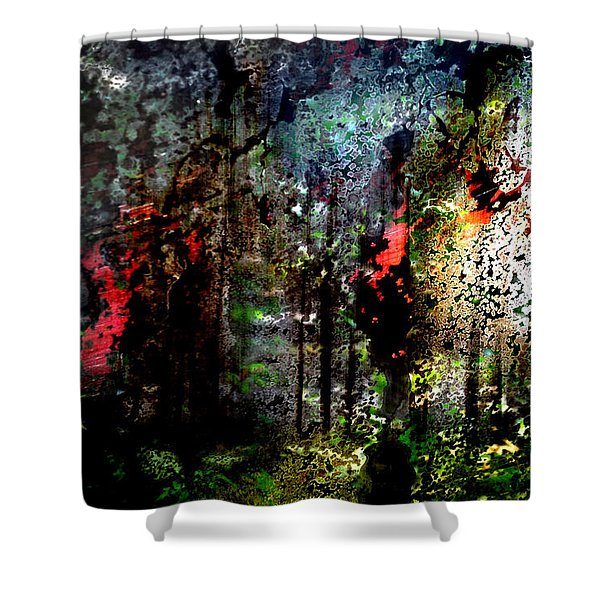 Beauty In Decay Shower Curtain