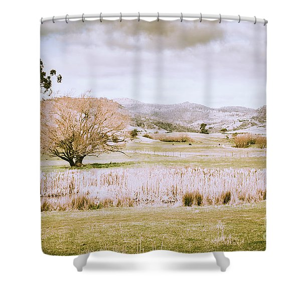 Beauty In Rustic Gretna Shower Curtain