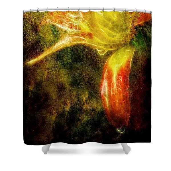 Beauty In The Darkness Shower Curtain
