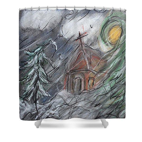 Beauty Of Winter Shower Curtain