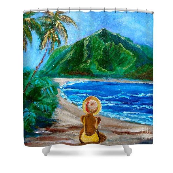 Beauty On The Beach Shower Curtain