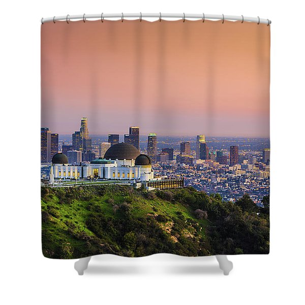 Beauty On The Hill Shower Curtain