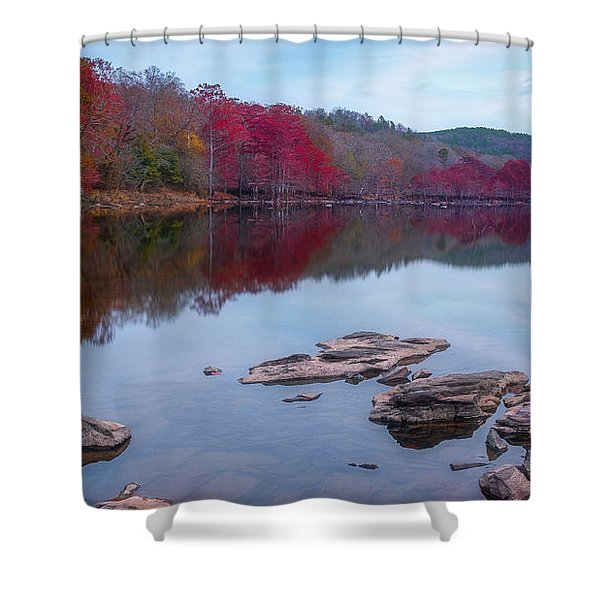 Beavers Bend State Park Shower Curtain