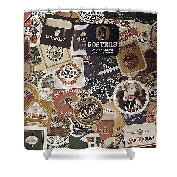 Beers Of The World Shower Curtain