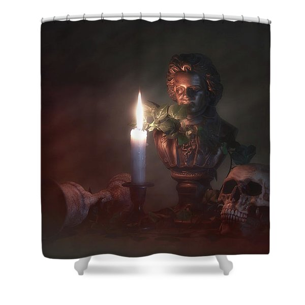 Beethoven By Candlelight Shower Curtain