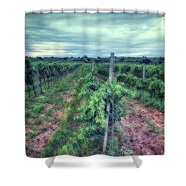 Before The Harvesting Shower Curtain
