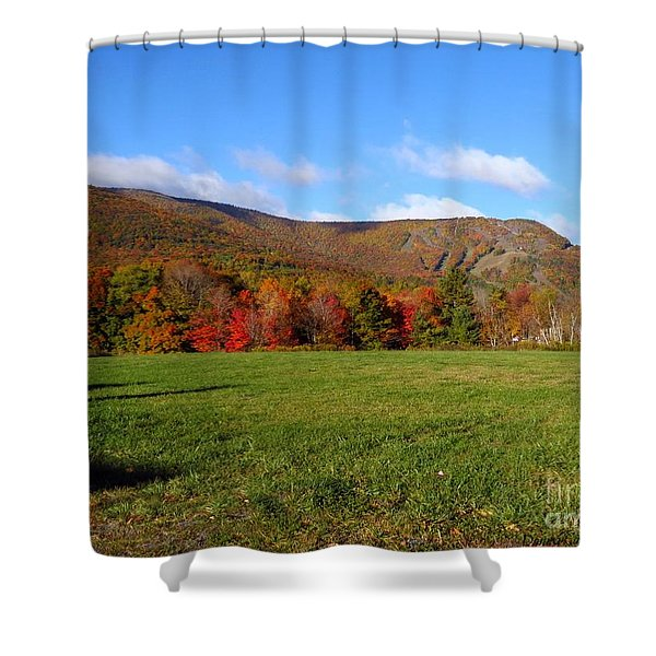 Before The Snow Flies Shower Curtain