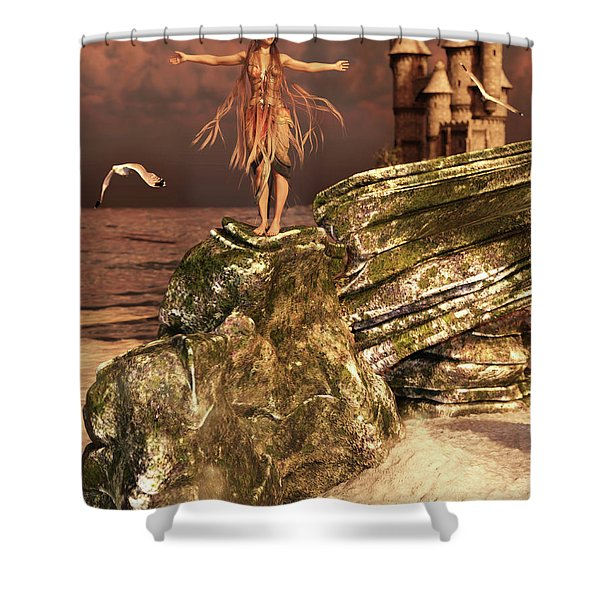 Before The Sun Sets Shower Curtain