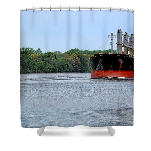 Begin The Long Journey Shower Curtain