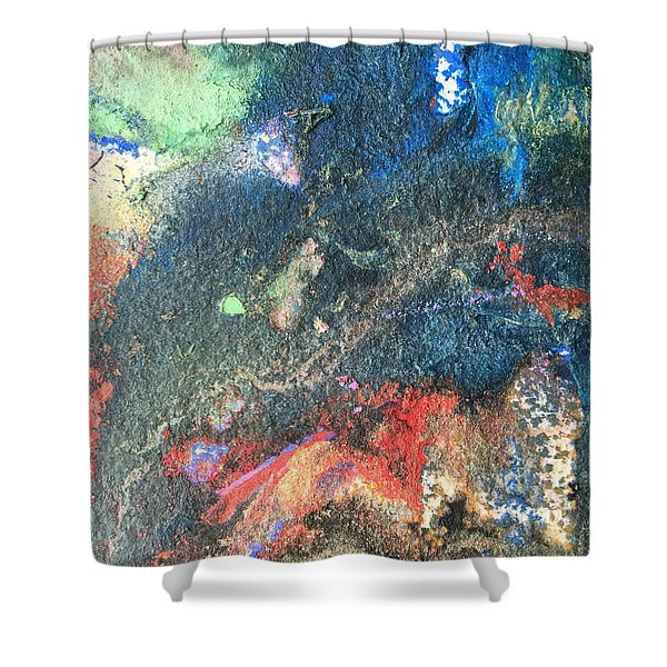 Beginnings - Geology Series Shower Curtain