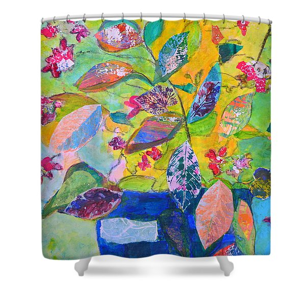 Begonias Shower Curtain