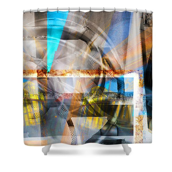 Behind A Dream Shower Curtain