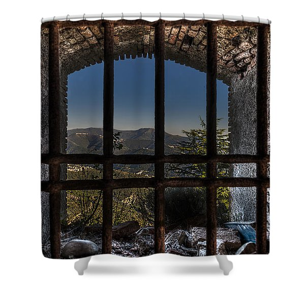 Behind Bars - Dietro Le Sbarre Shower Curtain