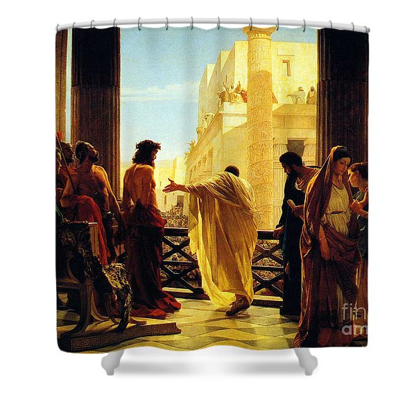 Behold The Man Shower Curtain