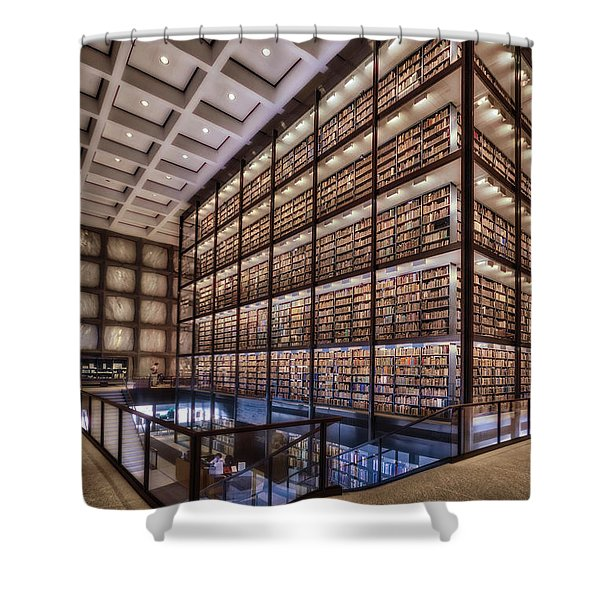 Beinecke Rare Book And Manuscript Library Shower Curtain
