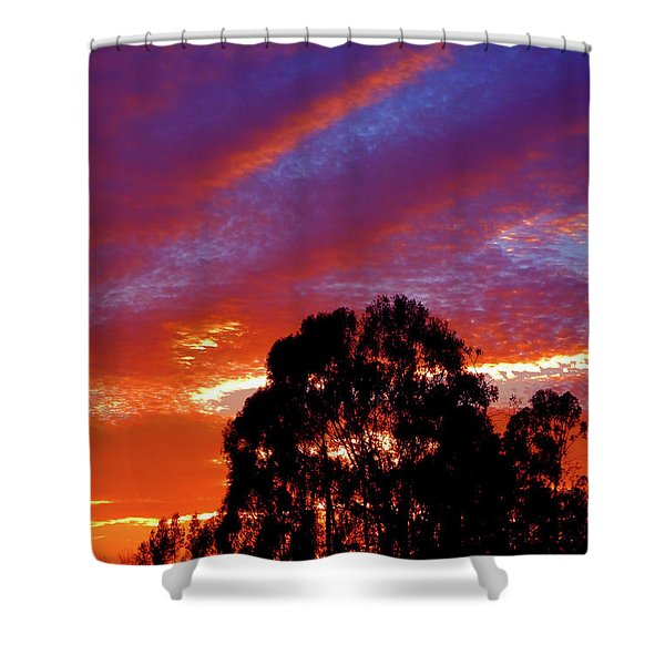 Being There Shower Curtain
