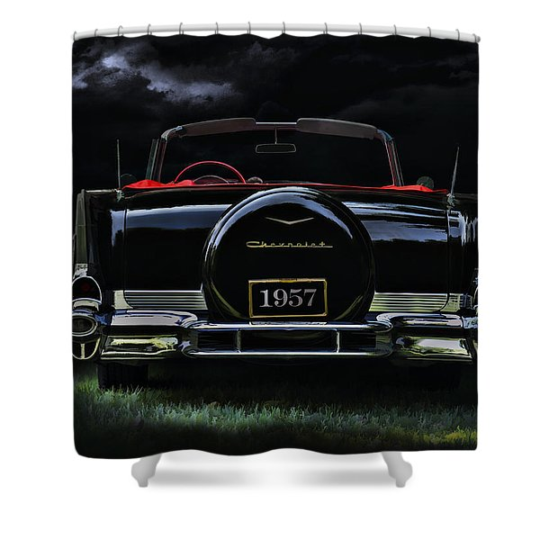 Bel Air Nights Shower Curtain