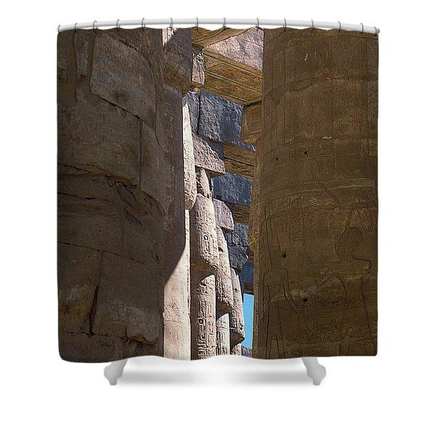Belief In The Hereafter IIi Shower Curtain