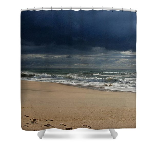 Believe - Jersey Shore Shower Curtain